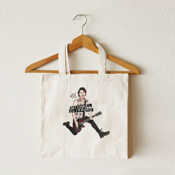 Michael Clifford tote bag - Mike - 5SOS bag - 5 Seconds of Summer - Canvas tote bag - TOT-015