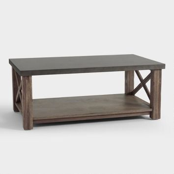 Wood Farmhouse Duncan Coffee Table