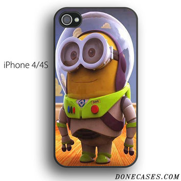 Buzz Lightyear Minions case for iPhone 4[S]