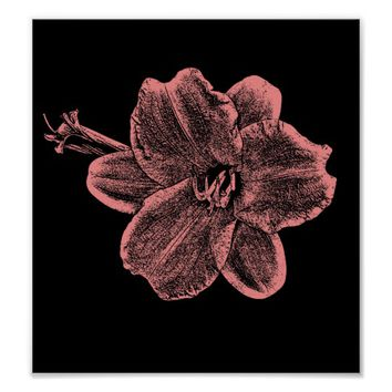 Narcissus Flower original digital art Poster
