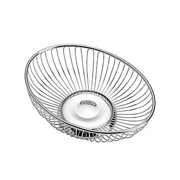 Towle Silversmiths Oval Wire Basket