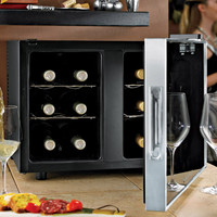 12-Bottle Dual-Temp Wine Refrigerator with Touchscreen by Wine Enthusiast