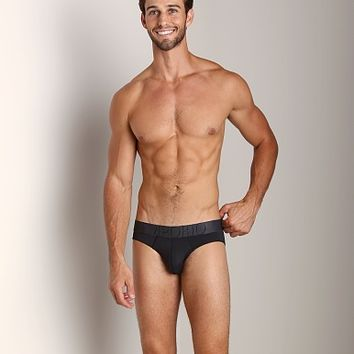 Emporio Armani Big Eagle Microfiber Brief Black 110814-3A558-00020 at International Jock Underwear & Swimwear
