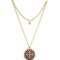 """Tory Burch Solid Perfume Pendant Necklace, 30"""" - Bloomingdale's Exclusive"""