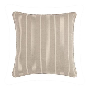 Sure Fit Grain Sack Stripe Throw Pillow