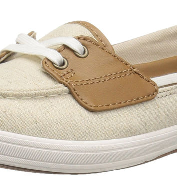 Keds Women's Glimmer Linen Fashion Sneaker Natural 10 B(M) US '