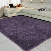 Anti-slip Thick Large Floor Carpets For Living Room