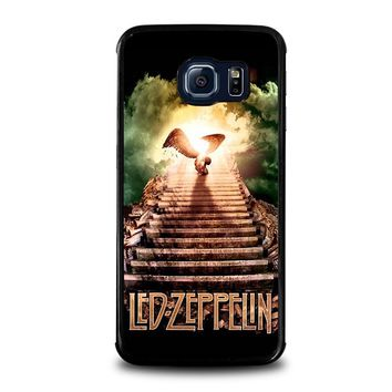 LED ZEPPELIN STAIRWAY TO HEAVEN Samsung Galaxy S6 Edge Case Cover