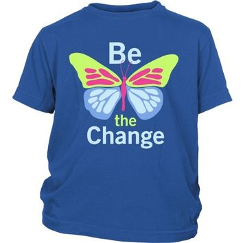 Be the Change - Kids Shirt