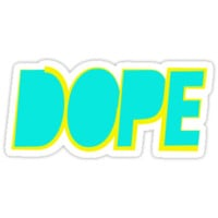 Dope Cyan Yellow | Hope4Pope.org