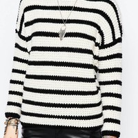 Pimkie Stripe Knit Jumper