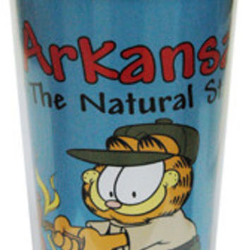 arkansas travel mug- garfield camping Case of 24