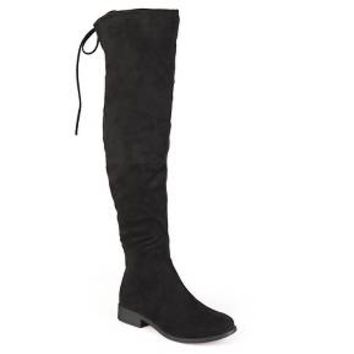 Women's Journee Collection Round Toe Over the knee Boots : Target