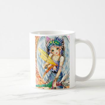 Girl Swordsman Coffee Mug
