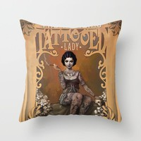 Tattooed Lady Pillowcase