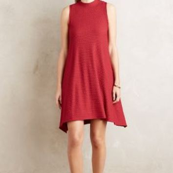 Maeve Cerise Swing Dress in Red Size: