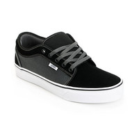 Vans Chukka Low Black & Dark Slate Skate Shoe
