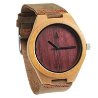 Wooden Watch // Purple Heart Plain