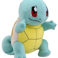 "Takaratomy New Pokemon N-10 X and Y Squirtle/Zenigame 8"" Plush Doll"
