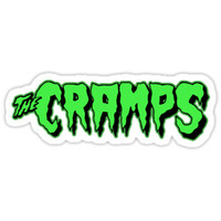 'The Cramps GREEN FUZ' Sticker by RatRock