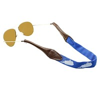 Kentucky Sunglass Straps in Blue by 39th Parallel