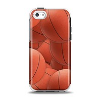 The Basketball Overlay Apple iPhone 5c Otterbox Symmetry Case Skin Set