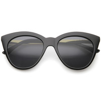 Women's Euro Dual Tone Cat Eye Sunglasses A069