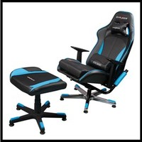 Dxracer Video Game Chair + Ottoman Kc57nb/suit Gaming Chair Tv Lounge Chair