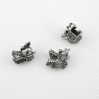 20x Charme Making Jewellery Pendentif Fermoir Jewelry Findings Charms fabrication bijoux breloques 5-13737 Dragon Head Bead
