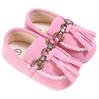Baby Shoes Boat Style Baby Moccasins Toddler PU Leather Soft Sole Shoes For Girls Kids Newborn Toddlers First Walkers Sneakers