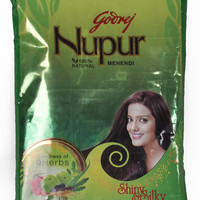 Godrej Nupur Mehendi 100% Natural 150 grams Packet With Goodness Of 9 Herbs Best deals from India . best quality hair henna .