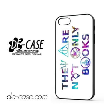 They Are Not Only Books Harry Potter The Hunger Games For Iphone 5 Iphone 5S Case Phone Case Gift Present