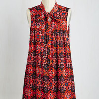 Boho Long Sleeveless Backstage Interview Tunic by ModCloth