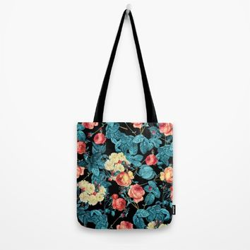 NIGHT FOREST XII Tote Bag by Burcu Korkmazyurek