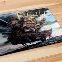 Howl'S Moving Castle Mousepad | Aneend