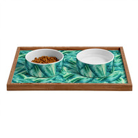 Social Proper Cover Pet Bowl and Tray