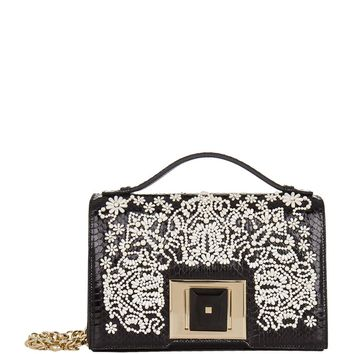 Andrew Gn Embellished Brief Cross Body Bag | Harrods.com