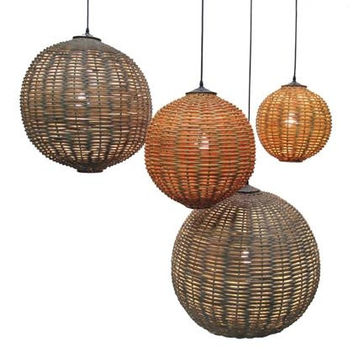 Ruby Rattan Indoor/ Outdoor Lighting