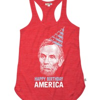 Women's Happy Birthday America Tank Top