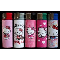 5 Hello Kitty Refillable Lighters