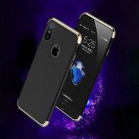 Electroplate case for iphone X