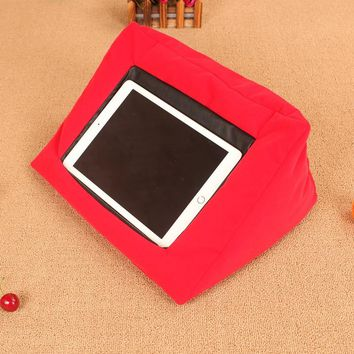 Multifunctional Pillow for ipad  Car Cushion  Laptop Tablet Pillow PC Tablet Stand Holding Holder
