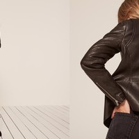 Veda Love Your Mother Leather Jacket