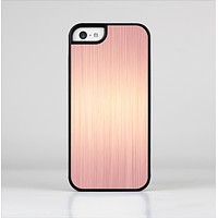 The Rose Gold Brushed Surface Skin-Sert Case for the Apple iPhone 5c