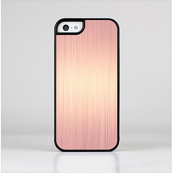 The Rose Gold Brushed Surface Skin-Sert for the Apple iPhone 5c Skin-Sert Case