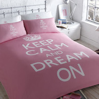 Keep Calm Dream On Bed Set - bedding sets - bed linen  - For The Home