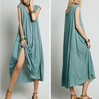Sleeveless Prom Dress One Piece Dress [4970284612]