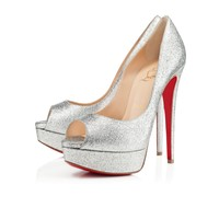Lady Peep 150mm Silver Glitter