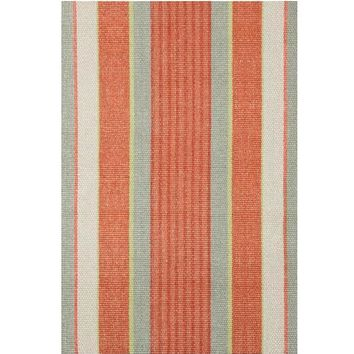 Autumn Stripe Woven Cotton Rug