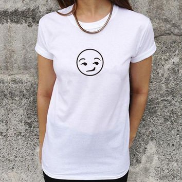 Summer Casual Simple Design Creative Short Sleeve T-shirts [6048689921]